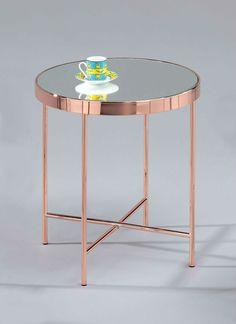 Benigni Round Side Table