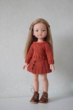 Купить Мастер класс Кофточка с юбочкой для куклы Паола Рейна в интернет магазине на Ярмарке Мастеров
