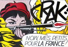 Roy Lichtenstein. Crak! 1963