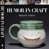Humor in Craft - Brigitte used to have a gallery in Pittsburgh that carried my work.  She's amazing - trained as a goldsmith, she's also created Crafthaus, an online community of artists.  And this book!