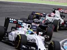Daniil Kvyat, Carlos Sainz, track action, garage, team, pitlane... enjoy the best shots from our Formula 1 2016 German Grand Prix. Full Gallery on http://win.gs/2arKGcc. Wallpaper download section on http://win.gs/str_download. #F1 #tororosso #kvyat #sainz #redbull #GermanGP