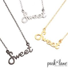 Totally Sweet Necklace   Park Lane Jewelry