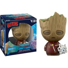 Funko Dorbz: Guardians of the Galaxy 2, Groot with Cyber Eye Walmart Exclusive, Multicolor