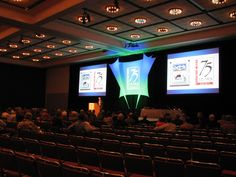 The Wildlife Society's General Session set in the Oregon Ballroom 2012