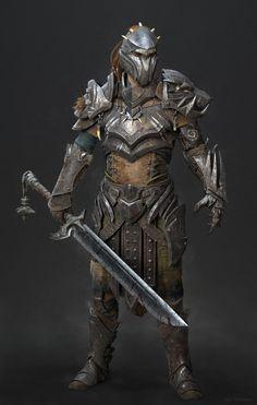 Beast Hunter, Igor Golovkov on ArtStation at…. Gladiator knight