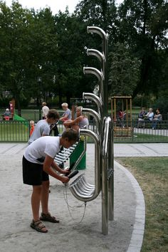 Percussion Play: Community Music Park installed in City Of Bydgoszcz