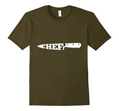 Men's chef shirt- Chef knife icon Large Olive chef cookin... https://www.amazon.com/dp/B01M1KC08H/ref=cm_sw_r_pi_dp_x_kT5aybCH3GVFZ