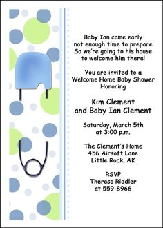 7 Best Welcome Home Baby Shower Images