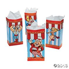 Popcorn Bags - Oriental Trading