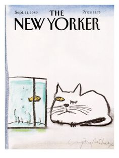 The New Yorker | cover art by Jean Claude Floc'h