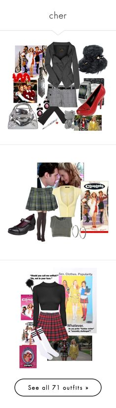 """""""cher"""" by alexisajtme ❤ liked on Polyvore featuring SilverStone, Murphy, Borsalino, Mead, Vivienne Westwood Anglomania, Tokyoflash Japan, Wet Seal, Balenciaga, Hello Kitty and movie"""
