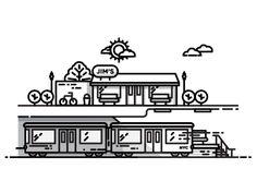 I miss the train again.... | Designer: Nick Slater
