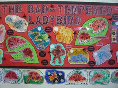 Bad Tempered Ladybird Paint and Print/Illustration