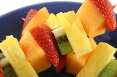 Healthy Kids Party Snacks