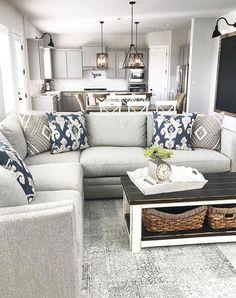 Gorgeous 75 Stunning Rustic Farmhouse Living Room Design Ideas https://decorapatio.com/2018/01/06/75-stunning-rustic-farmhouse-living-room-design-ideas/
