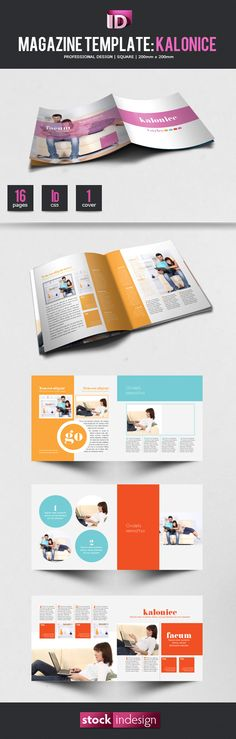 FREE InDesign Magazine Template: Kalonice