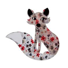 Welcome to Daisy Park, official UK stockist of the highly collectable, limited edition Erstwilder brooches, earrings and jewellery. Free UK delivery on orders over Official UK stockist of Erstwilder loveliness Resin Jewelry, Jewelry Box, Camille, Brooch Pin, Unique Gifts, Fox, Jewelry Making, Hand Painted, Fancy