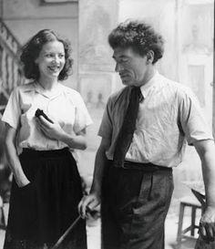 Alberto and Annette Giacometti