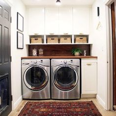 """Outstanding """"laundry room storage diy small"""" info is available on our website. Have a look and you wont be sorry you did. Tiny Laundry Rooms, Laundry Room Shelves, Laundry Room Remodel, Laundry Room Cabinets, Laundry Closet, Laundry Room Organization, Laundry Room Design, Laundry In Bathroom, Laundry Area"""