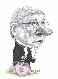 Alex Ferguson by Pancho Cajas Art Pop, Sir Alex Ferguson, Greg Capullo, Rest Of The World, Political Cartoons, Ecuador, Famous People, Football, Paintings