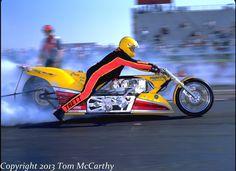 Elmer Trett Top Fuel Racing Motorcycles, Custom Motorcycles, Custom Bikes, Nhra Drag Racing, Drag Bike, Top Fuel, Car Humor, Race Cars, Bike Stuff