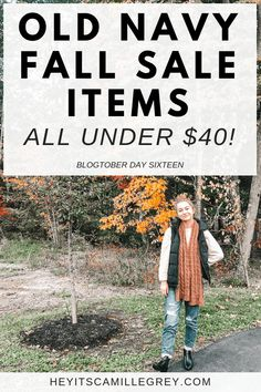 Old Navy Fall Sale I