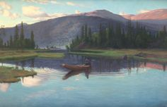 Christian Skredsvig (1854-1924): Djupsjøen 1904