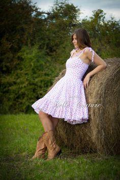 """romantisches Petticoatkleid """"Country Rose"""" von Atelier Belle Couture 50er Jahre Petticoatkleider Rockabilly Kleider auf DaWanda.com"""