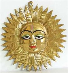 Sun Mask With Facial Features Of August II The Strong As Apollo