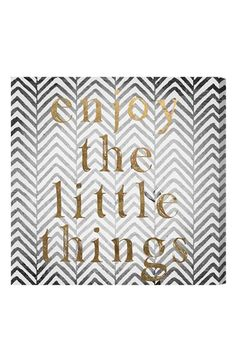 Oliver Gal 'Enjoy the Little Things' Wall Art available at #Nordstrom