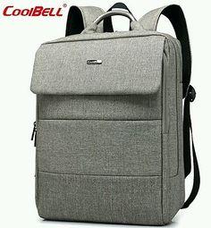 Coolbell  Mens Womens Laptop Backpack 15.6 inch Waterproof Notebook Computer Bag
