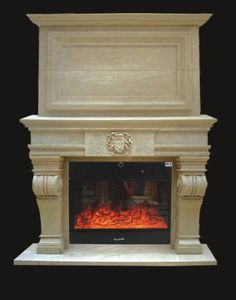 stone fireplace mantels | natural stone fireplace surround many natural stone colors textures ...