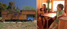 New Zealand couple revamps old flatbed truck into solar-powered home