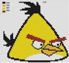 Angry Birds Cross Stitch patterns
