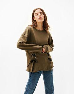 Women's Sweatshirts & Hoodies for Spring Summer 2017 | Bershka