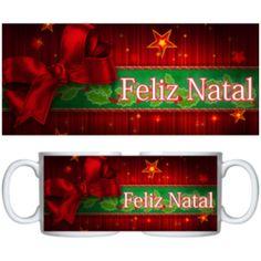 Estampa para caneca Comemorativa Natal 000710