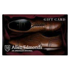 Allen Edmonds Gift Card for Shoes and Belt