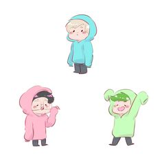 Holy Trinity in hoodies by some-youtubes | PewDiePie Markiplier Jacksepticeye | THEY ARE SO CUTE OMG