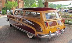 1948 Hudson Commodore custom-made station wagon Chevrolet Bel Air, Ford Modelo T, Hudson Commodore, Audi R8, Hudson Car, Station Wagon Cars, Woody Wagon, Pt Cruiser, Ferrari 488