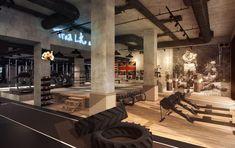 Victoria's Secret models will train at this new London boxing gym - Business Insider Dream Gym, Gym Interior, Home Gym Design, Gym Decor, Crossfit Gym, Gym Room, Glass Facades, Fitness Design, Victorias Secret Models