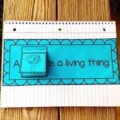 Interactive Science Notebook~Living and Nonliving