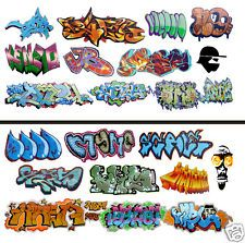 HO Scale Graffiti 2-Pack #11 - Weather Your Box Cars, Hoppers, & Gondolas!