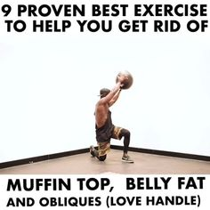 WATCH THIS AND SAVE IT FOR LATER. - - Muffin top, love handles and lower abs is a problem for lots of people. These Workout will help you along with good diet.  U can't do without good diet too. - - You can do this workout without the ball. U can use dumbbell or kettle bell. Or just nothing. - - Do each workout 4. Set of 15 Reps. - - - My official fitness app is going live soon. And i will pack with tons of workout to target each body part. And over thousand exercise library for you to…