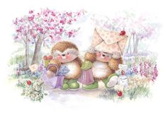 Country Companions Ed Hedgehog and Friends -