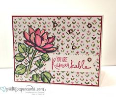 Pals Paper Crafting Picks of the Week Remarkable You Mary Fish Stampin Pretty StampinUp