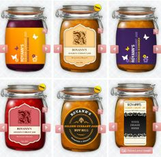The Jam Labelizer: Design and Print Your Own Jam Labels for Free! | The Kitchn