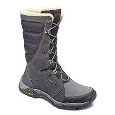Ahnu Womens Northridge Star Suede WP Insulated Granite 11 M >>> Check out the image by visiting the link.