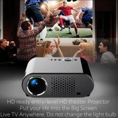 [ $25 OFF ] Full Hd 720P 350 Lumens Home Theater Led Lcd Mini Multimedia Projector Led Video Movie Cinema Usb Tv Hdmi