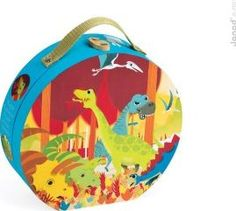 Janod Dinosaurs Puzzle `One size Age : 3 to 6 years old Number of pieces : 24 Fabrics : Cardboard 50 x 40 cm. http://www.comparestoreprices.co.uk/january-2017-7/janod-dinosaurs-puzzle-one-size.asp