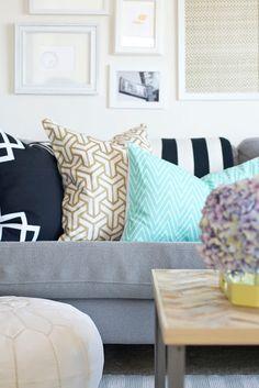 Designer Inspired Pillow Shams